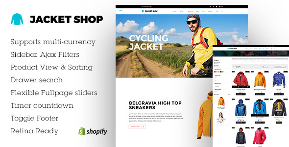 Jacket Shop | Shopify theme            TFx