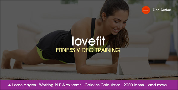 LOVEFIT - Fitness Video Training            TFx