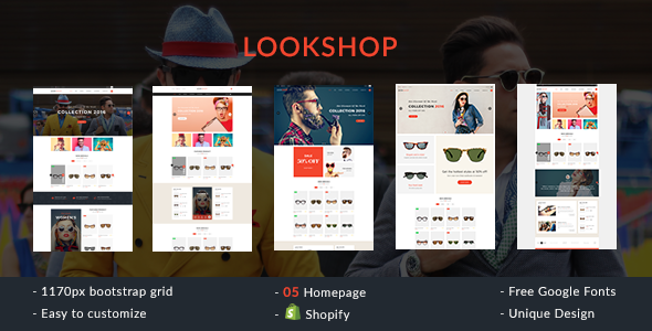 Lookshop Shopify Theme            TFx