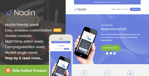 Nadin, App Promo Email Template + Builder Access            TFx