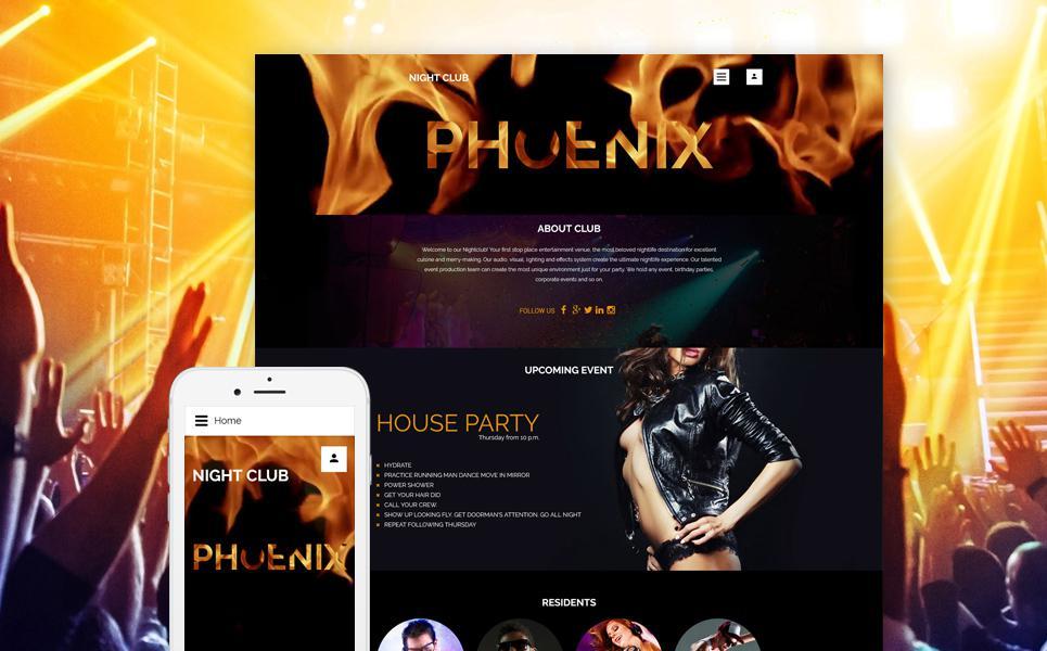 Phoenix Joomla Template TMT