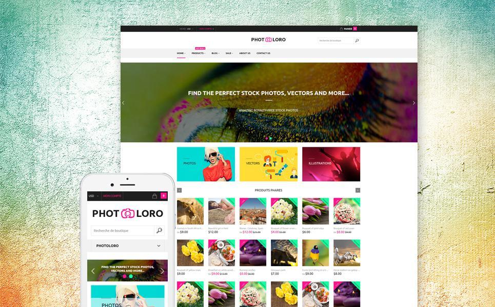 PhotoLoro Shopify Theme TMT