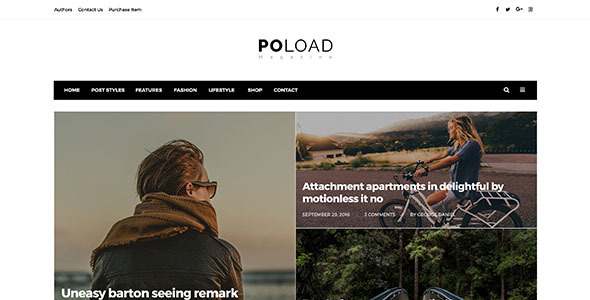 Poload Multipurpose Magazine Psd            TFx