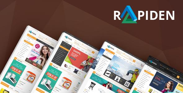 Rapiden - Mega Shop Responsive Opencart Theme            TFx