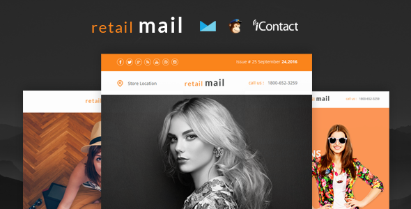 Retail Mail - Responsive E-mail Templates            TFx