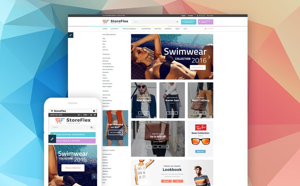 StoreFlex - Multipurpose OpenCart Template TMT