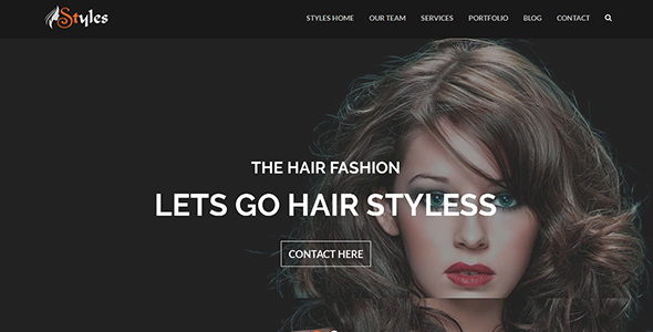 Styles - Template for Beauty Hair Saloon and Barber Shop            TFx