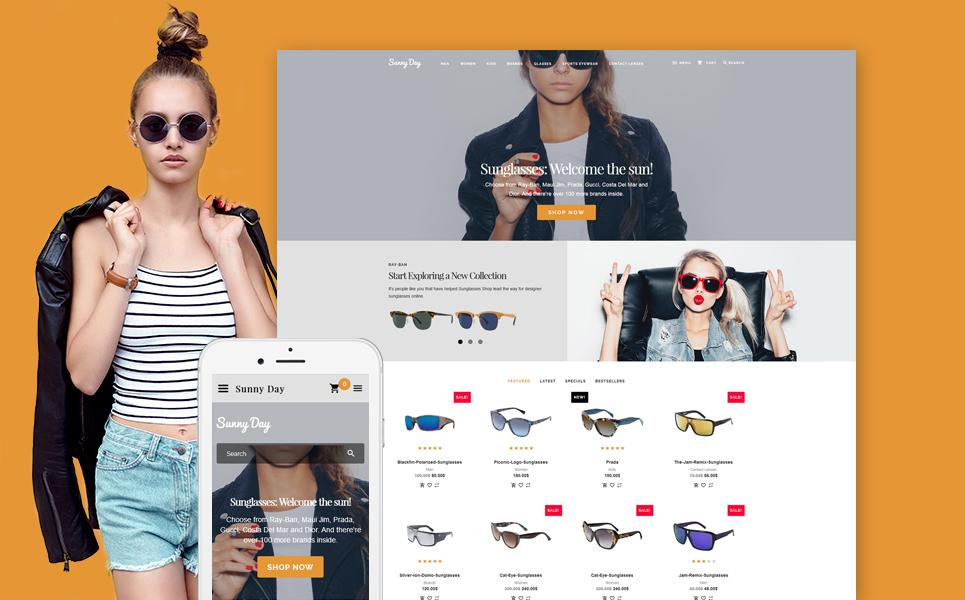 Sunny Day OpenCart Template TMT