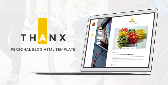 THANX - Personal  HTML Template            TFx