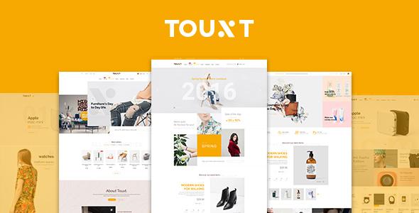Touxt - Commerce Drupal 8 Theme            TFx