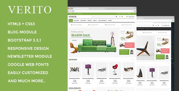 Verito - Responsive OpenCart Theme            TFx
