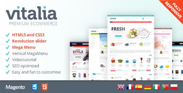 Vitalia - Premium Magento 2 Theme            TFx