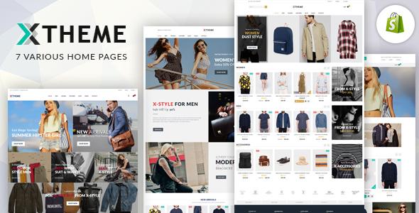 X-Theme - Responsive Shopify Theme            TFx