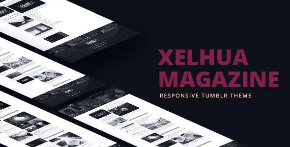 Xelhua Magazine - Responsive Tumblr Theme            TFx