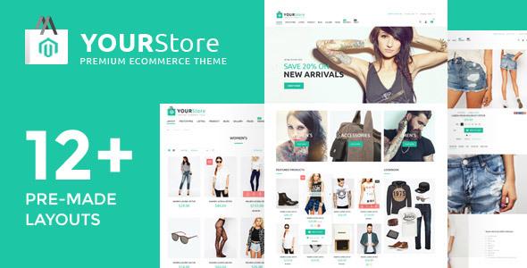 YourStore - Magento theme            TFx