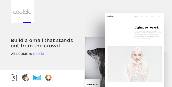 coolelo - Responsive Email Template Minimal Portfolio            TFx