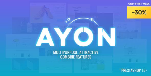 AYON - Multipurpose Responsive Prestashop Theme            TFx