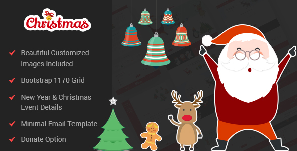 Christmas & New Year PSD Template            TFx