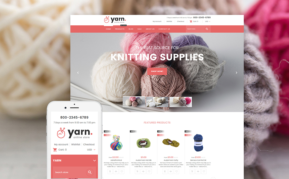 Crafts Responsive Shopify Theme TMT