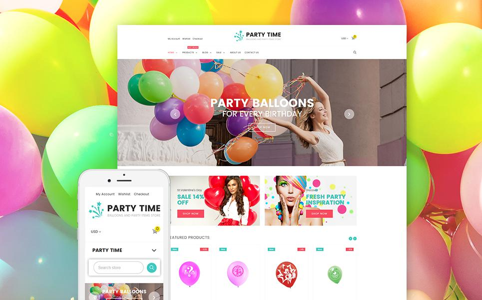 Entertainmnet Responsive Shopify Theme TMT