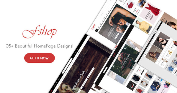 FShop - Fashion/Clothing eCommerce PSD Template            TFx