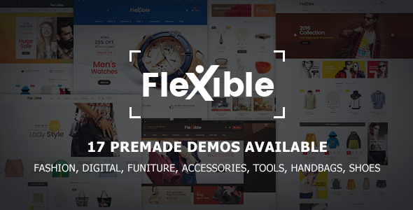 Flexible - Multi-Store Responsive Prestashop Theme | 17 Premade Demos            TFx