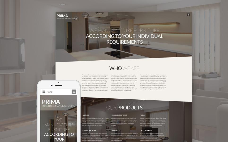 Furniture Responsive Joomla Template TMT
