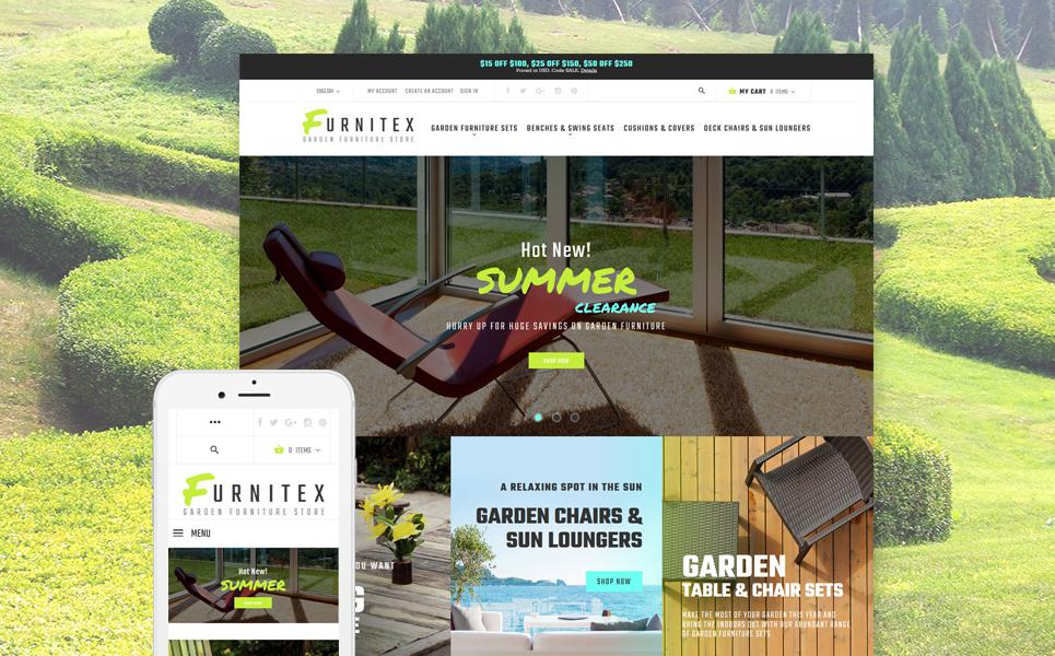 Furniture Responsive Magento Theme TMT