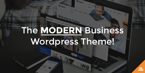 Fusion - A Modern Business HTML Template            TFx