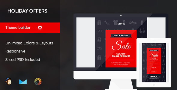 Holiday Offers - Complete Set of Marketing Email Templates            TFx
