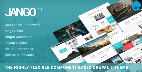 Jango | Highly Flexible Component Based Drupal Theme            TFx