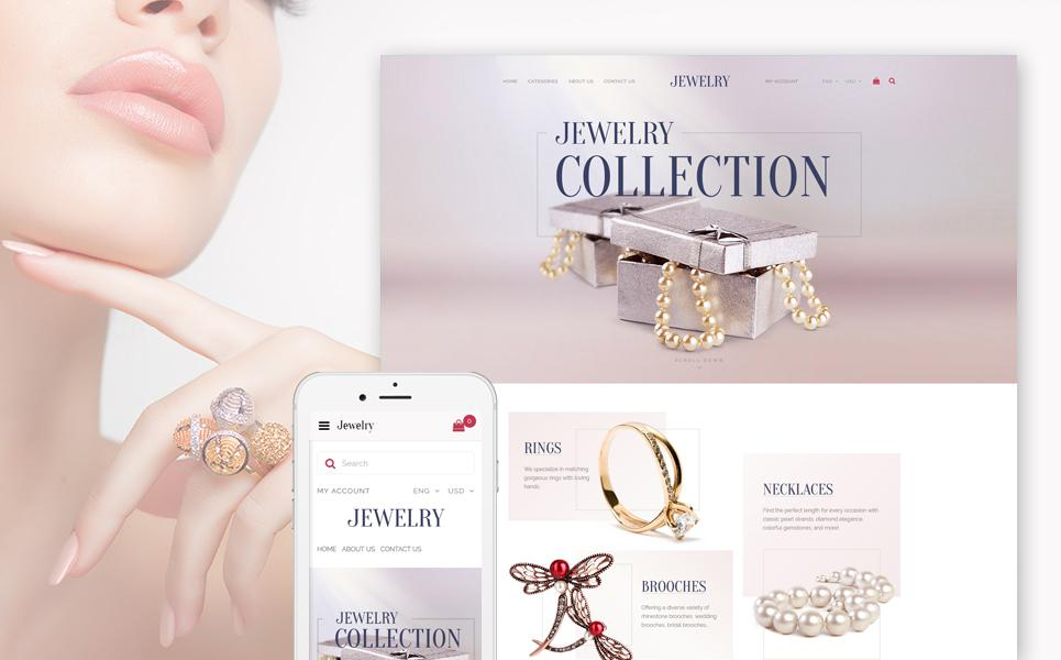 Jewelry Responsive OpenCart Template TMT
