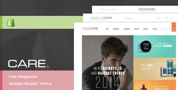 Leo Care Store Responsive Theme            TFx