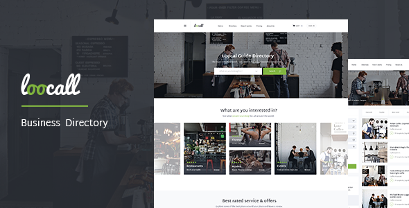 Loocall - Modern Business Directory            TFx