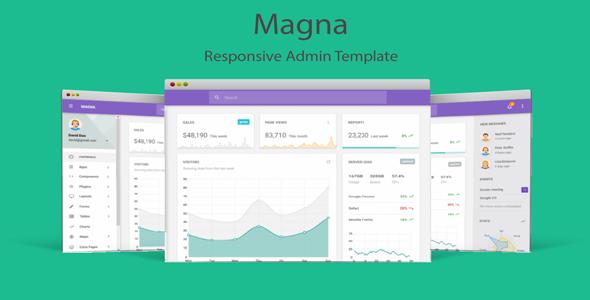 Magna - Responsive Admin Template            TFx