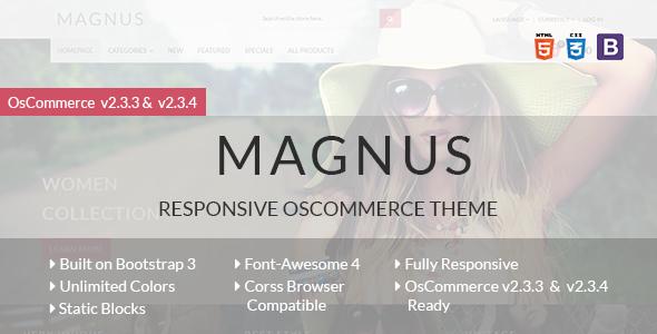 Magnus – Responsive osCommerce Theme            TFx