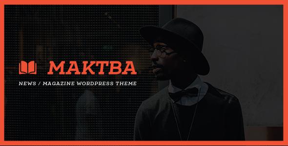 Maktba News / Magazine PSD Template            TFx