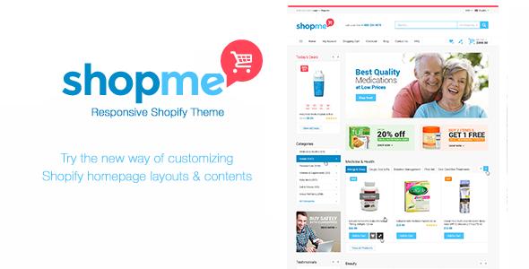 Medical Shopify Theme - Shopme            TFx