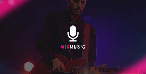 MixMusic - Band & Musician PSD Template            TFx