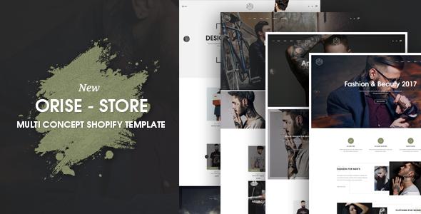 Orise Multi Concept Shopify Theme            TFx