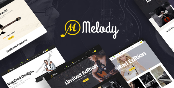 Pav Melody - Best Musical Instruments Opencart theme            TFx