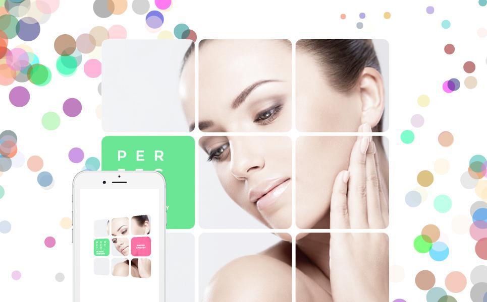 Plastic Surgery Responsive Website Template TMT