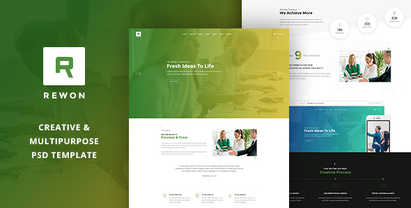 REWON - Multipurpose PSD Template            TFx
