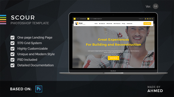 Scour Construction - PSD Template            TFx