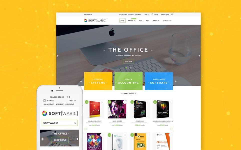 Software Store Responsive Shopify Theme TMT