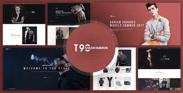 T90 - Fashion Responsive Magento Theme            TFx