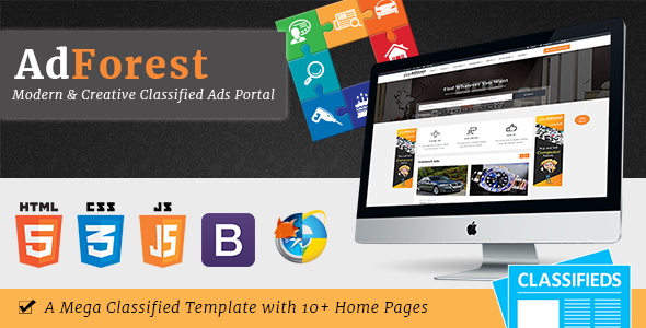 AdForest - Largest Classified Marketplace Ads Template            TFx