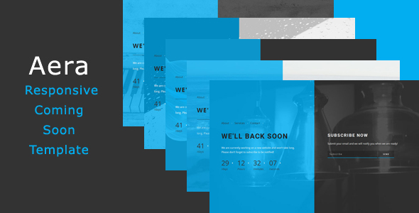 Aera - Responsive Coming Soon Template            TFx
