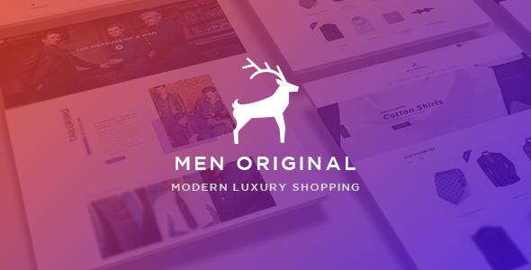 Ap Men Original - eCommerce PSD Template            TFx