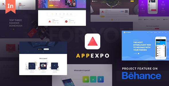 AppExpo - Multipurpose Application WordPress Theme (App Showcase, Appstore)            TFx